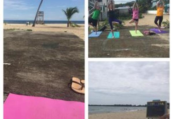 Yoga on the Beach: GU Winter Term - Belize
