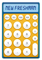 New Freshman Calculator