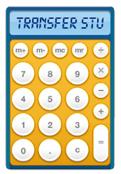 Transfer Student Calculator