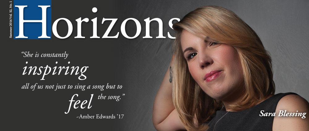 Sarah Blessing - Horizons Summer 2016