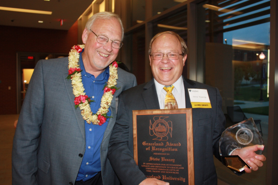 Graceland Award of Recognition, Honorary Alumni Award - Steve Veazey