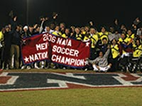 A strong men's soccer program