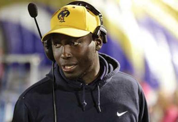 Graceland alum and coach James Thomas Jr `09