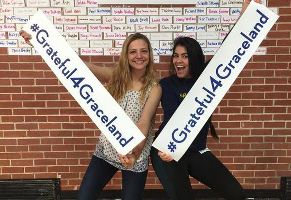 Graceland University's Second #Grateful4Graceland Day of Giving Celebration