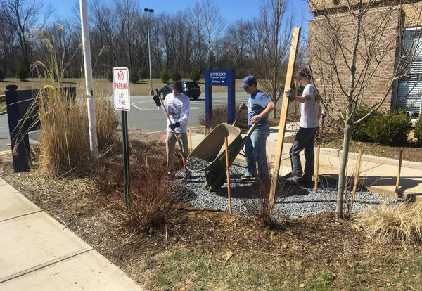 Eagle Scout project at HPS
