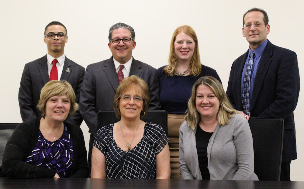 District 401 Board of Education members
