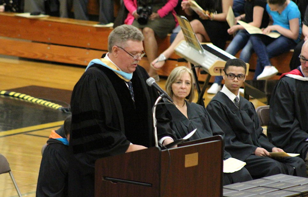 2017 EPHS graduation — Superintendent Dr. Kevin Anderson speaking