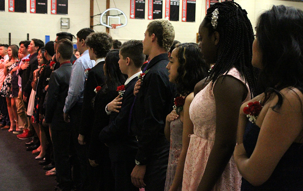 Elm Graduation 2017 — Pledge of Allegiance