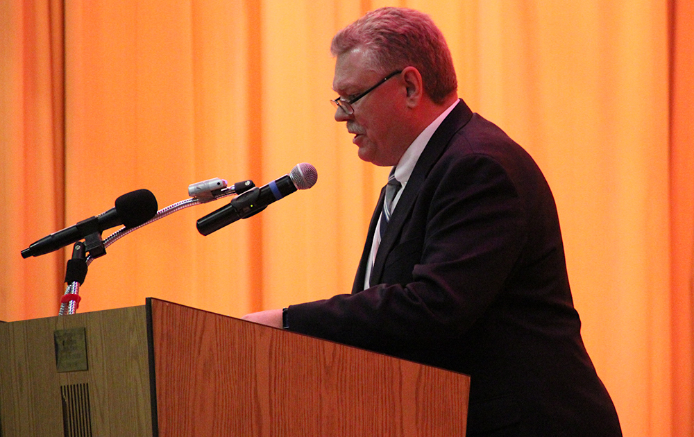 Elm Graduation 2017 — Superintendent Dr. Kevin M. Anderson speaking