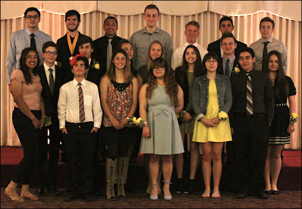 Seniors Honored for Academic Achievements