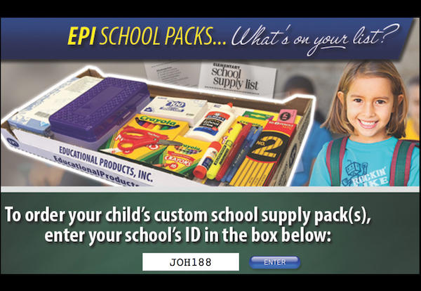 Buy Your 2017-18 School Supplies Online With Just a Few Easy Clicks!