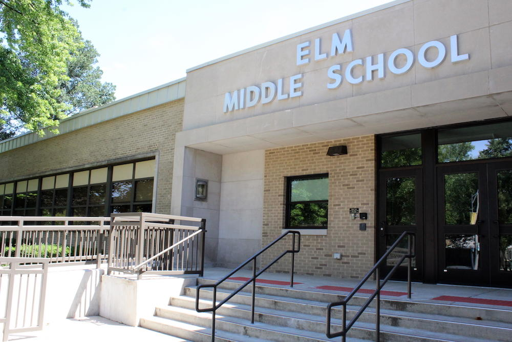 Elm Middle School building