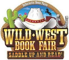 Logo for Wild West book fair