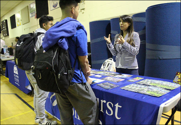 Students Explore Higher Education Options at EPHS College Fair