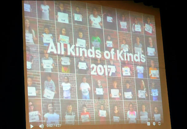 """All Kinds of Kinds"" Video Celebrates Difference, Diversity at John Mills"