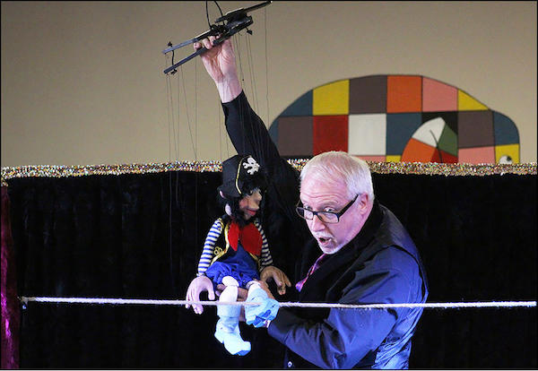 Dave Herzog's Pirate-Themed Marionettes Dazzle ECC Students