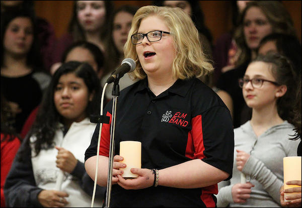 Choir, Band Take Center Stage at Elm Winter Concert