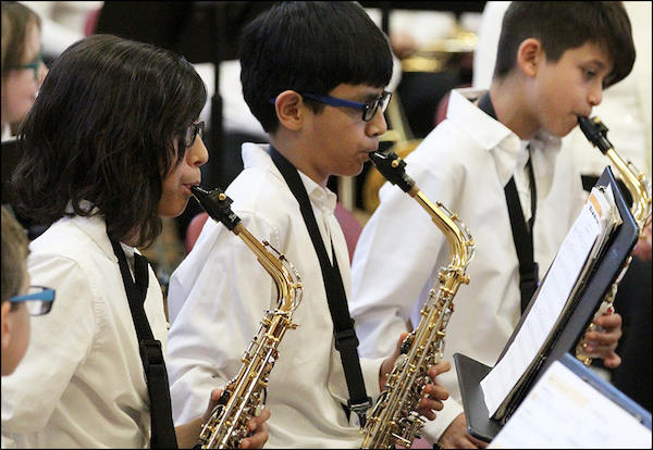 John Mills Choir, Band Celebrate Holidays with Winter Concert