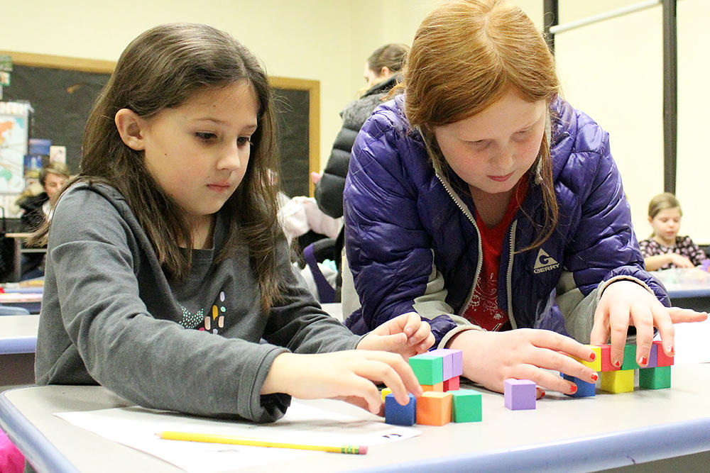 Grade 2-3 Session: Building Blocks of Matter — Engineering Solutions — Tower Building