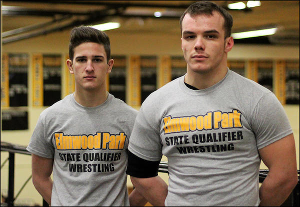 Giurini, Rama Qualify for Return Trips to IHSA State Wrestling Finals