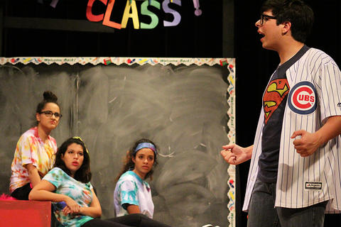 "EPHS students perform ""Godspell,"" the school's 2017 Fall Musical."