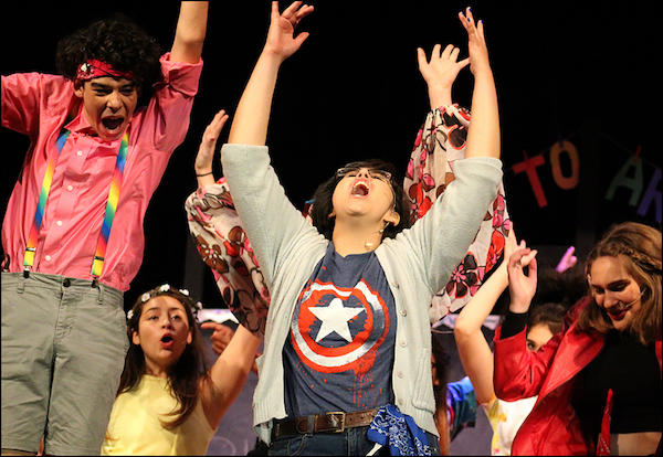 "Fall Musical Hits All the Right Notes with Production of ""Godspell"""