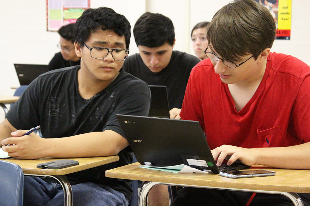 EPHS use Google in the classroom.