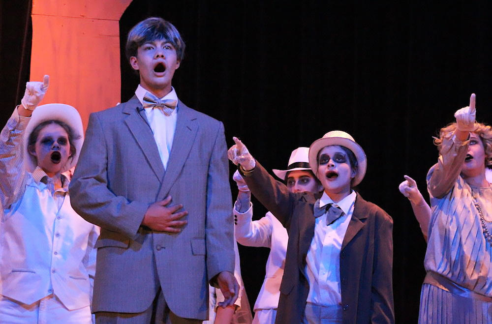 "Justin Eigenbauer as Lurch in last year's EPHS Spring Musical. ""The Addams Family."""
