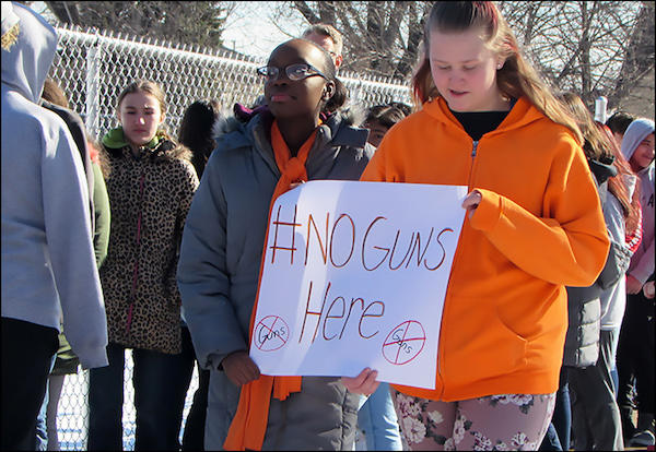 Letter from Dr. Wade: An Update on the National School Walkout