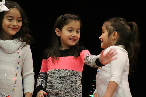 ECC students perform in the school's 2017 Winter Concert on Dec. 14.