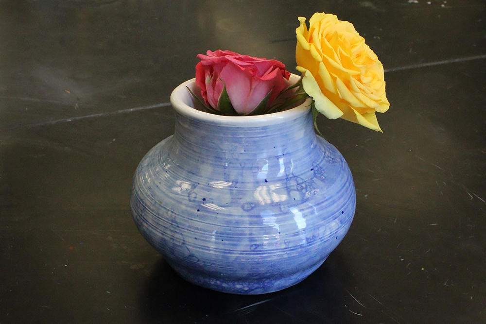 "Laura Martin Delcampo, ""Vase,"" third place, ceramic"