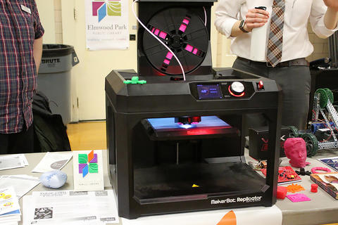 3D Printing (Elmwood Park Public Library)