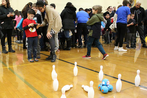 Bowling with Bots (John Mills Elementary)