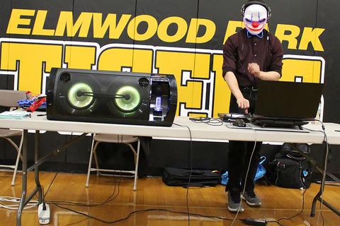 Student DJ Justin Eigenbauer
