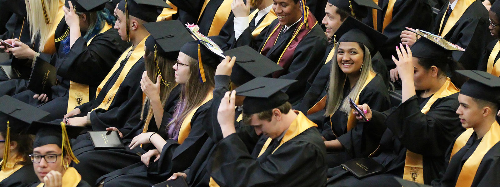 EPHS students attend graduation.