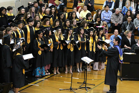 The Class of 2018 graduates from EPHS on May 20.