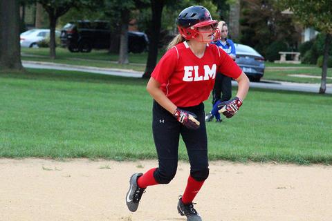 Elm girls softball