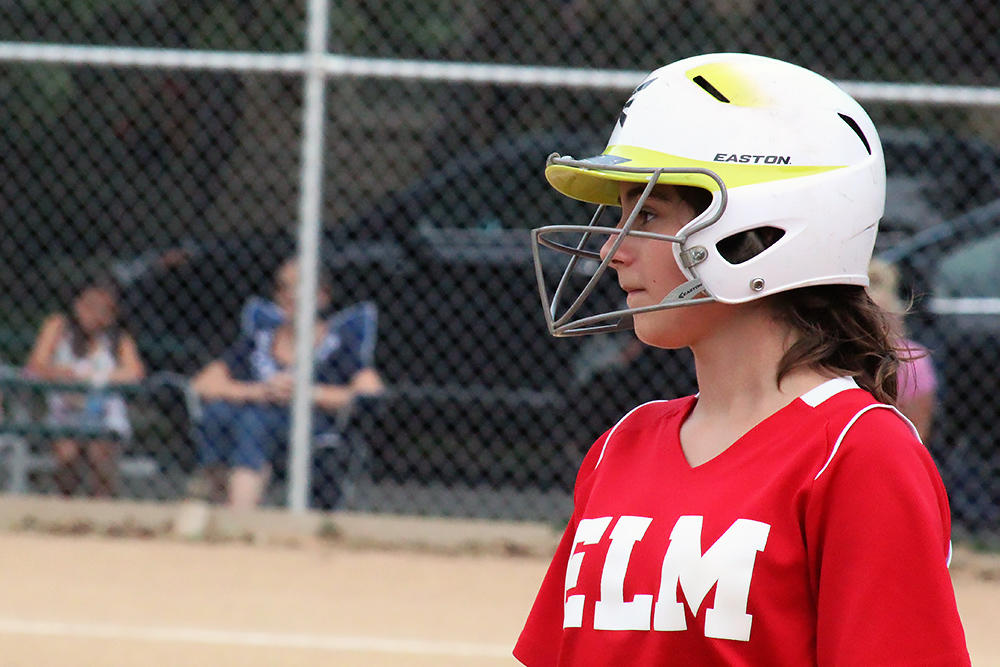 Elm girls softball