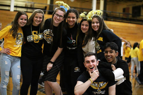 Black & Gold Day Pep Assembly: Student Leaders