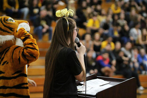 Black & Gold Day Pep Assembly: Welcome