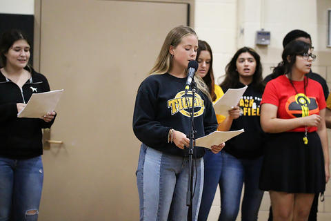 Black & Gold Day Pep Assembly: Swing Choir