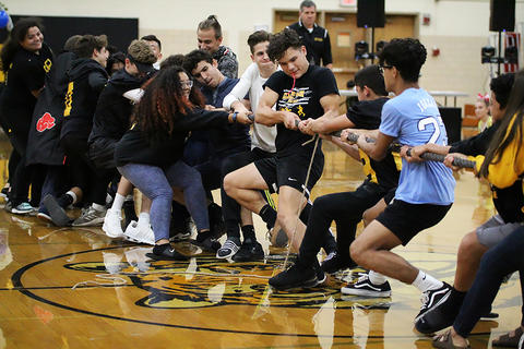 Black & Gold Day Pep Assembly: Sophomores vs. Freshmen
