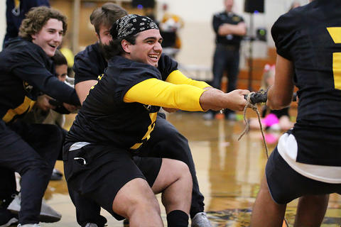 Black & Gold Day Pep Assembly: Seniors vs. Juniors