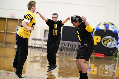 Black & Gold Day Pep Assembly: Dance Off Begins