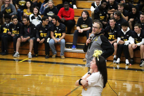 Black & Gold Day Pep Assembly: Parting Words from Principal Wildes