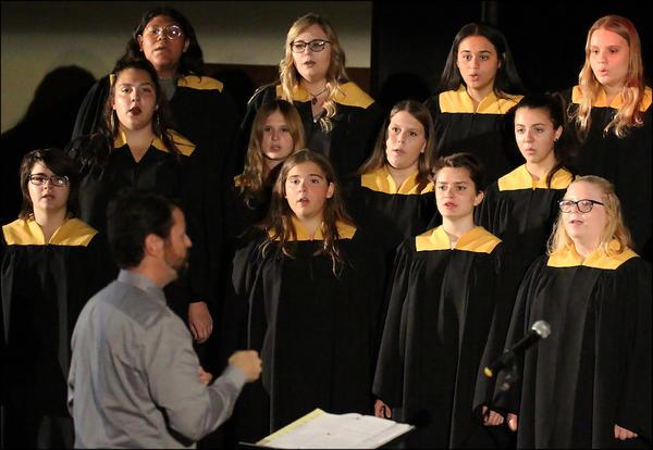EPHS Concert Choir performs at Kaleidoscope 2018.