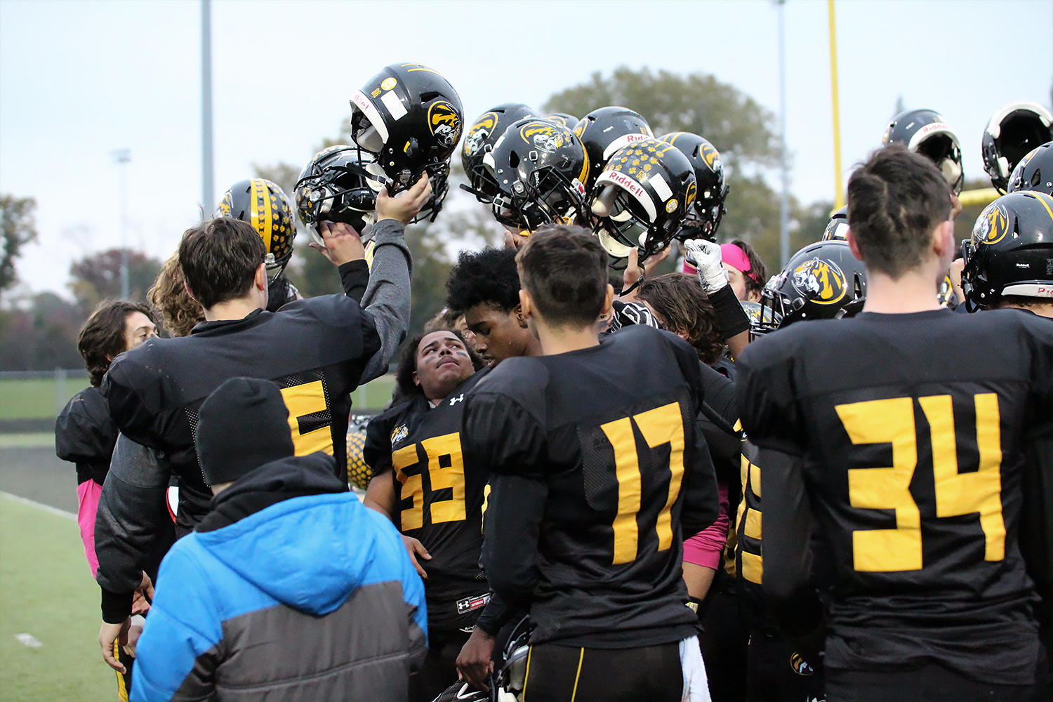 EPHS takes on Chicago Back of the Yards in the IHSA Class 5A football playoffs.