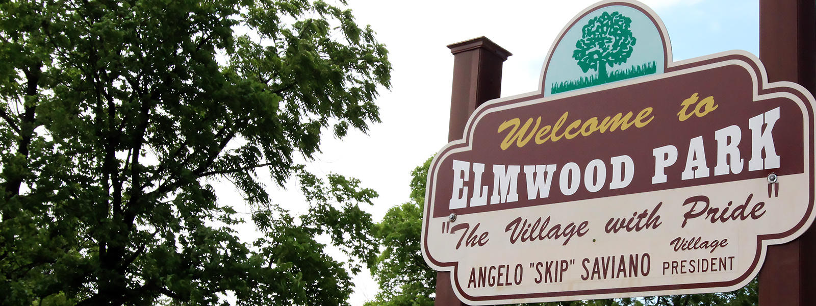 Elmwood Park sign