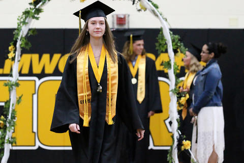 The 2019 Elmwood Park High School graduation ceremony