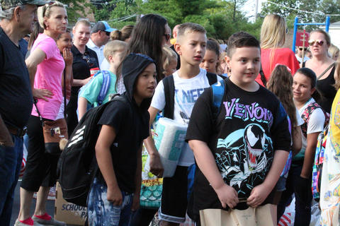 John Mills first day of school, Aug. 14, 2019
